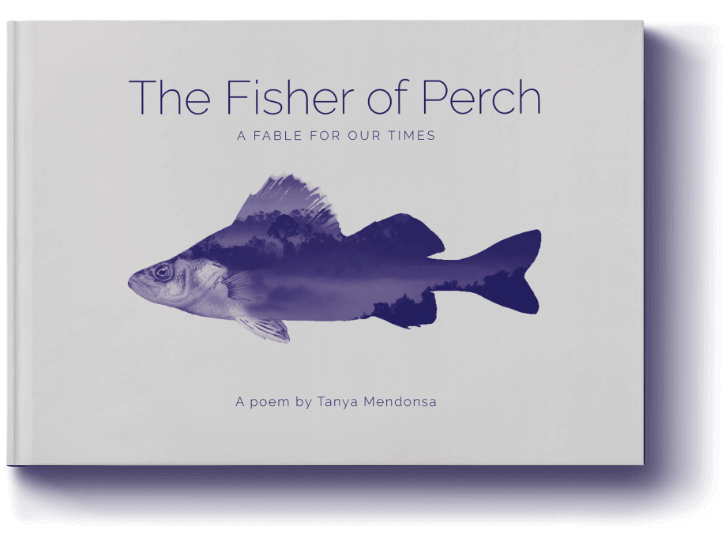 The Fisher of Perch front cover, designed by Design Foundry